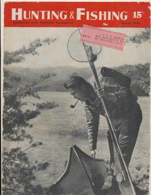 March 1944 Hunting & Fishing National Sportsman Mag - Canoeing